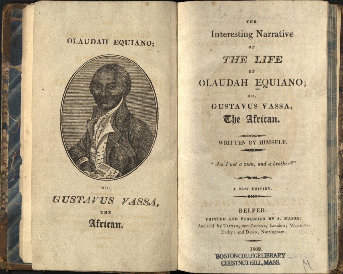 essays of olaudah equiano Free essays from bartleby | was all a part of the european triangular trade goods were brought to africa in order to trade with the africans slaves were.
